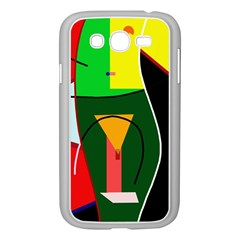 Abstract lady Samsung Galaxy Grand DUOS I9082 Case (White)