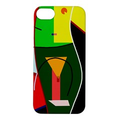 Abstract lady Apple iPhone 5S/ SE Hardshell Case