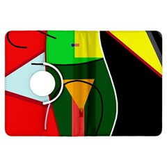 Abstract lady Kindle Fire HDX Flip 360 Case