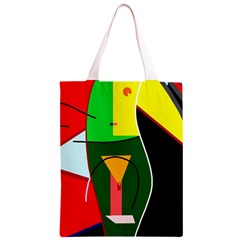 Abstract lady Classic Light Tote Bag