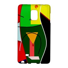 Abstract lady Galaxy Note Edge