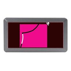 Pink square  Memory Card Reader (Mini)