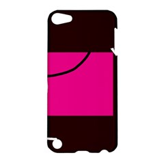 Pink square  Apple iPod Touch 5 Hardshell Case