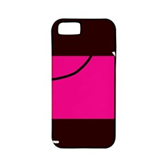 Pink square  Apple iPhone 5 Classic Hardshell Case (PC+Silicone)
