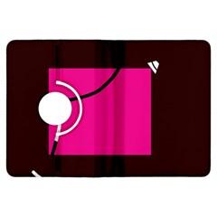 Pink square  Kindle Fire HDX Flip 360 Case