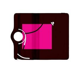 Pink square  Kindle Fire HDX 8.9  Flip 360 Case