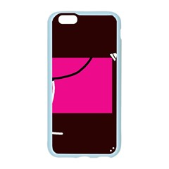 Pink square  Apple Seamless iPhone 6/6S Case (Color)