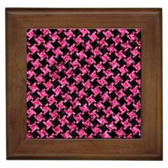 HTH2 BK-PK MARBLE Framed Tiles