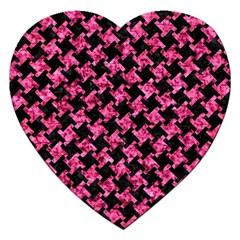 HTH2 BK-PK MARBLE Jigsaw Puzzle (Heart)
