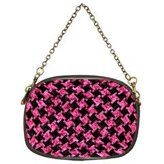 HTH2 BK-PK MARBLE Chain Purses (Two Sides)