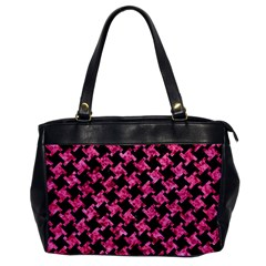 HTH2 BK-PK MARBLE Office Handbags