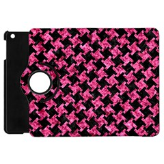 HTH2 BK-PK MARBLE Apple iPad Mini Flip 360 Case