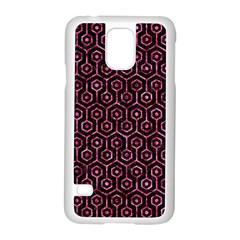 HXG1 BK-PK MARBLE Samsung Galaxy S5 Case (White)