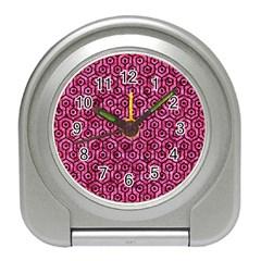 HXG1 BK-PK MARBLE (R) Travel Alarm Clocks
