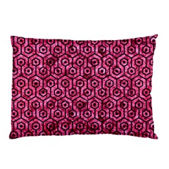 HXG1 BK-PK MARBLE (R) Pillow Case (Two Sides)