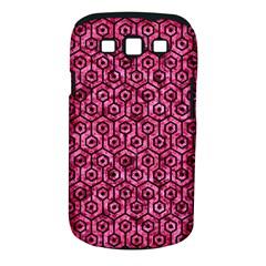 HXG1 BK-PK MARBLE (R) Samsung Galaxy S III Classic Hardshell Case (PC+Silicone)