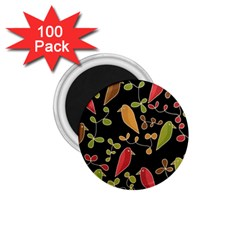 Flowers and birds  1.75  Magnets (100 pack)