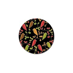 Flowers and birds  Golf Ball Marker (4 pack)