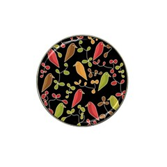 Flowers and birds  Hat Clip Ball Marker (10 pack)