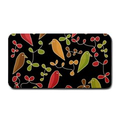 Flowers and birds  Medium Bar Mats