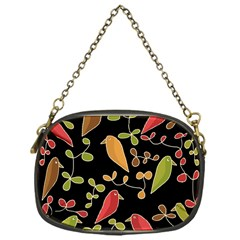 Flowers and birds  Chain Purses (One Side)