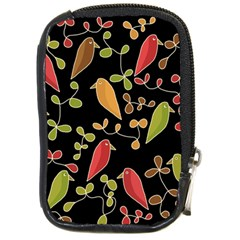 Flowers and birds  Compact Camera Cases