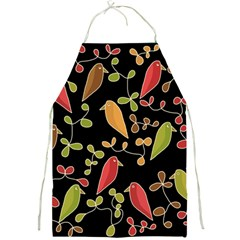 Flowers and birds  Full Print Aprons