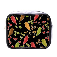 Flowers and birds  Mini Toiletries Bags