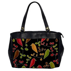 Flowers and birds  Office Handbags