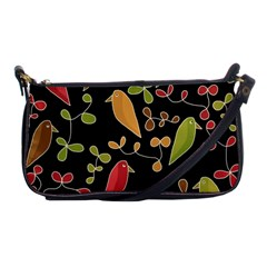 Flowers and birds  Shoulder Clutch Bags