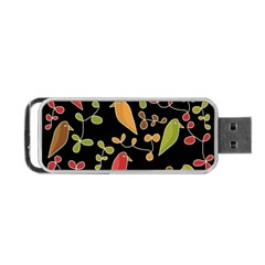 Flowers and birds  Portable USB Flash (Two Sides)