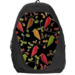 Flowers and birds  Backpack Bag