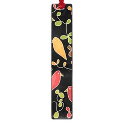 Flowers and birds  Large Book Marks