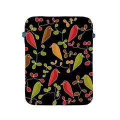 Flowers and birds  Apple iPad 2/3/4 Protective Soft Cases