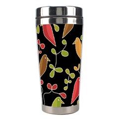 Flowers and birds  Stainless Steel Travel Tumblers