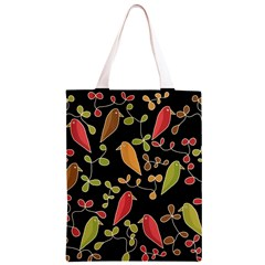 Flowers and birds  Classic Light Tote Bag