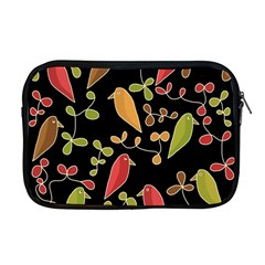 Flowers and birds  Apple MacBook Pro 17  Zipper Case