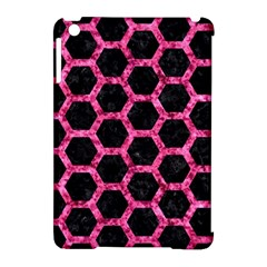 HXG2 BK-PK MARBLE Apple iPad Mini Hardshell Case (Compatible with Smart Cover)