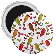 Birds and flowers 3 3  Magnets