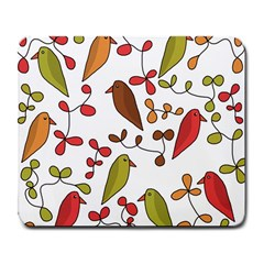 Birds and flowers 3 Large Mousepads