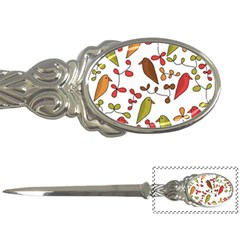 Birds and flowers 3 Letter Openers