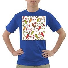 Birds and flowers 3 Dark T-Shirt