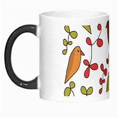 Birds and flowers 3 Morph Mugs