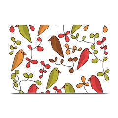 Birds and flowers 3 Plate Mats