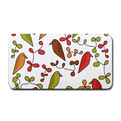 Birds and flowers 3 Medium Bar Mats