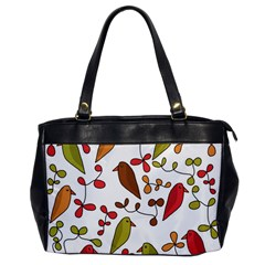 Birds and flowers 3 Office Handbags