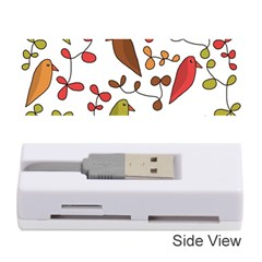 Birds and flowers 3 Memory Card Reader (Stick)