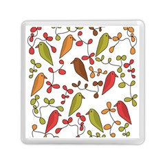 Birds and flowers 3 Memory Card Reader (Square)