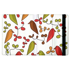 Birds and flowers 3 Apple iPad 2 Flip Case