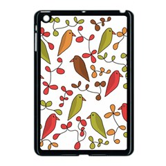Birds and flowers 3 Apple iPad Mini Case (Black)